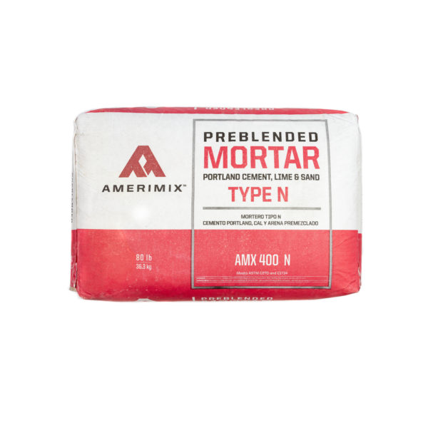 AMERIMIX MORTAR CEMENT & SAND MORTAR TYPE N 80